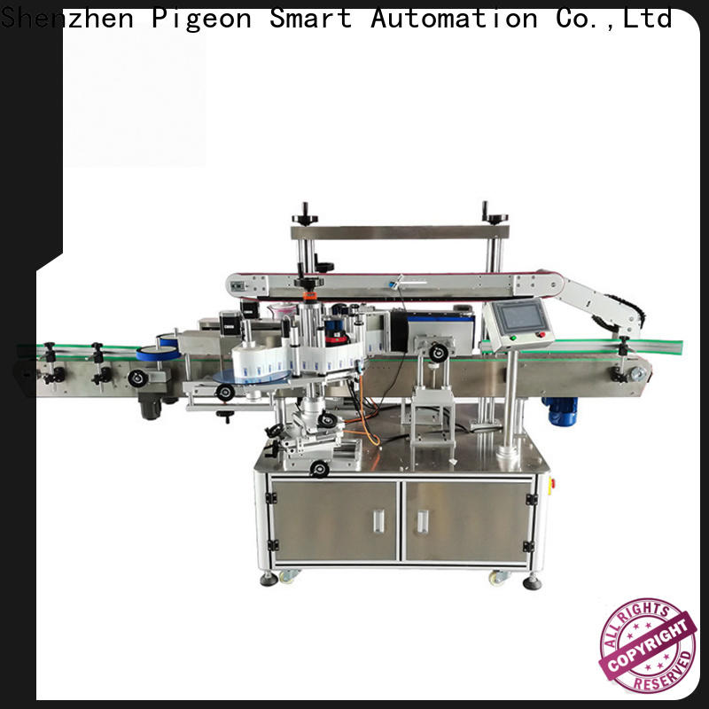 PST double side labeling machine manufacturer for bucket