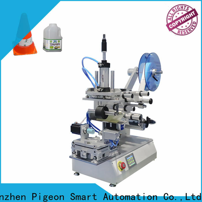 PST top plance labeling machine company for boxes