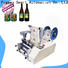 high quality semi automatic bottle labeling machine supply for industry