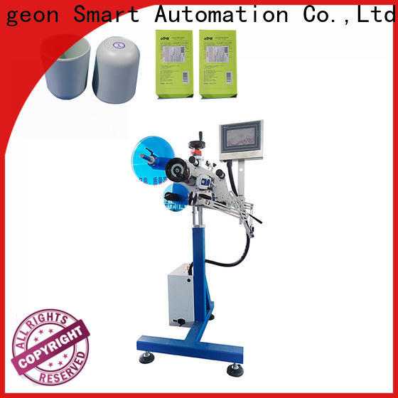 PST automatic labeling machine manufacturer for flat bottles
