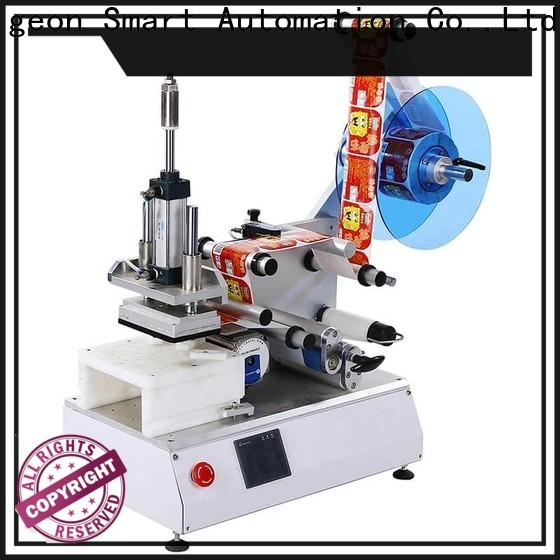 PST latest flat labeling machine with custom service for sale