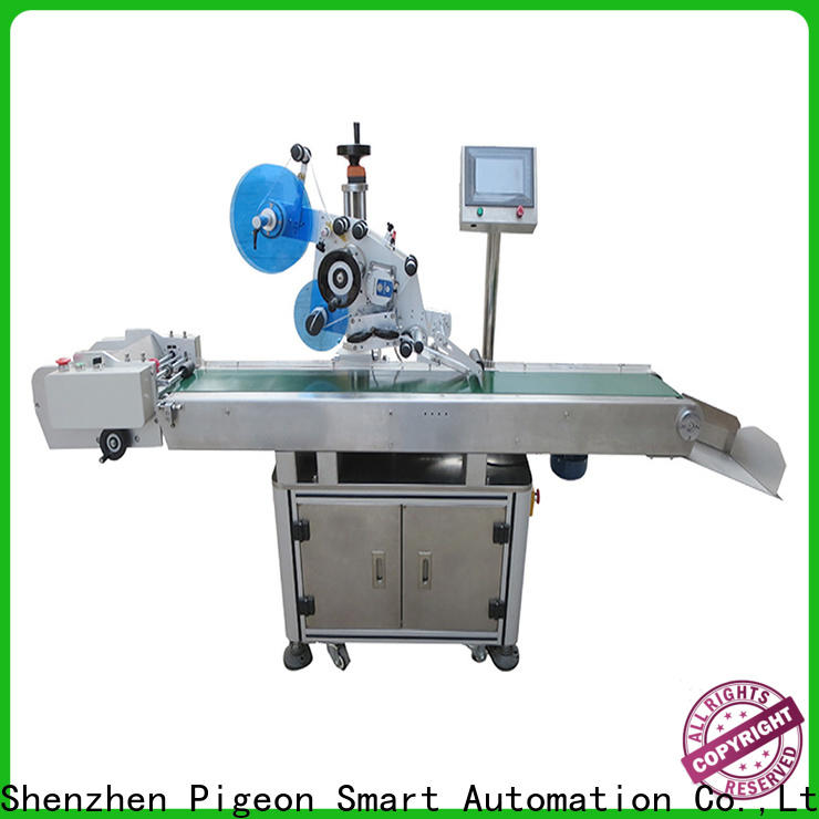 PST wholesale flat labeling machine factory for square bottles