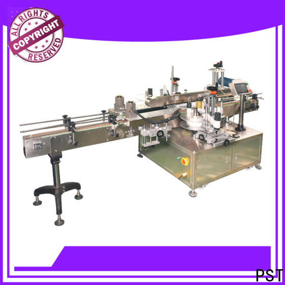 high speed double side labeling machine company for bucket