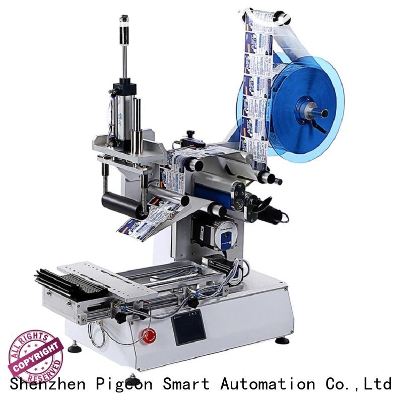 fully sticker labelling machine supply for flat bottles