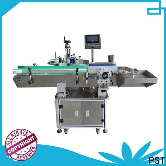 PST automatic bottle labeling machine supplier for wine bottle