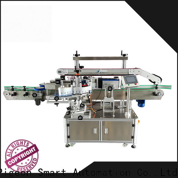 PST custom double side sticker labeling machine supplier for bucket