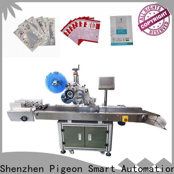 PST flat labeling machine supply for boxes