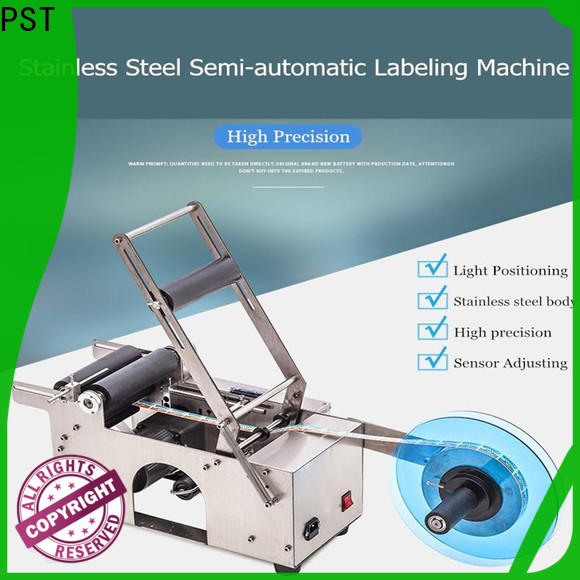 PST automatic labeling machine customization for square bottles