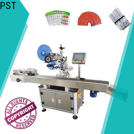 PST top automatic label applicator factory for square bottles