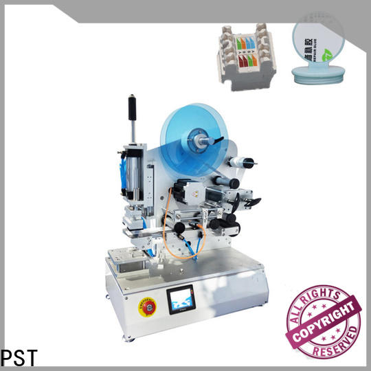 PST new semi auto labeling machine with custom services for bottle