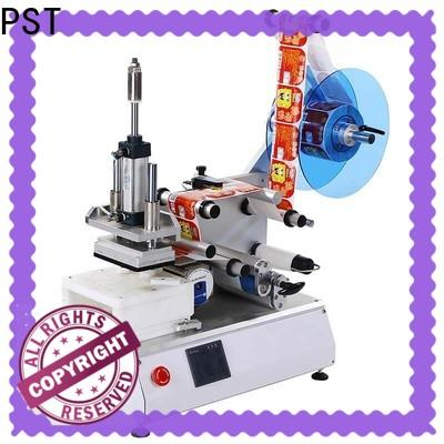 PST flat labeling machine company for sale