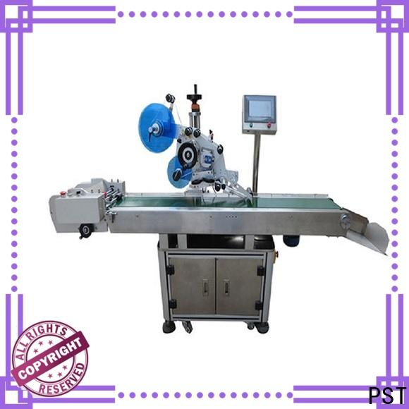 high quality automatic flat labeling machine for busniess for bags