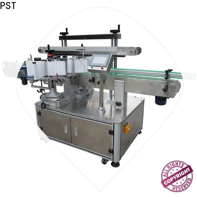 fully automatic double side labeling machine fast delivery for bucket
