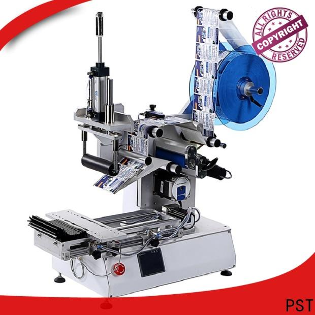 PST semi automatic auto label machine supply for cards