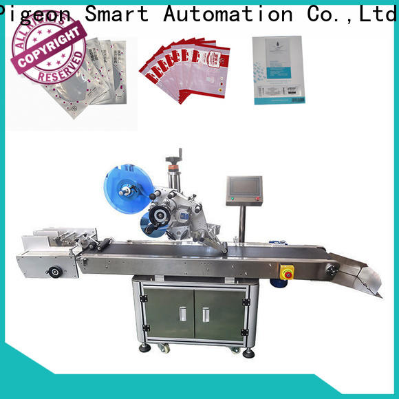 poly flat labeling machine supply for book