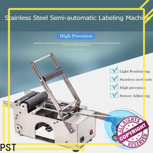 PST automatic label applicator for busniess for boxes