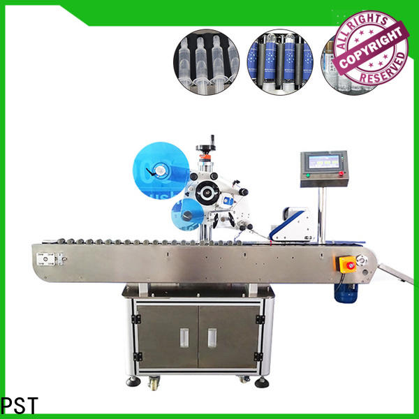 PST high speed semi automatic labeling machine design for boxes