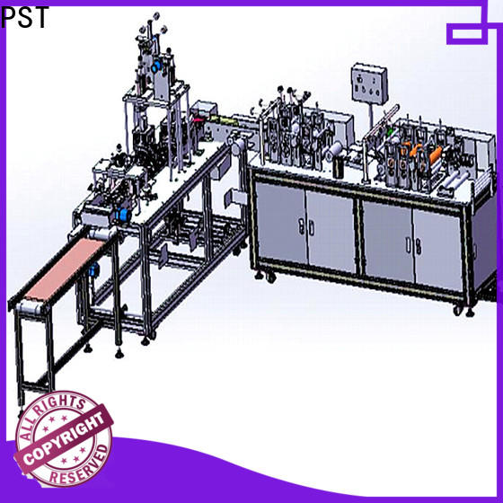 PST latest KF94 full automatic mask machine manufacturers for medical usage