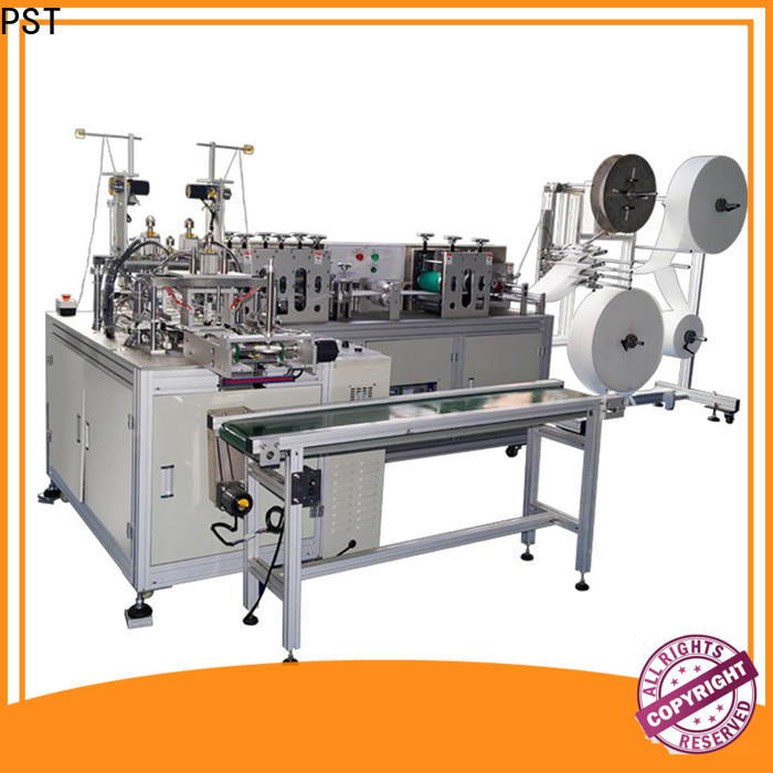 PST hot sale flat face mask machine factory for sale