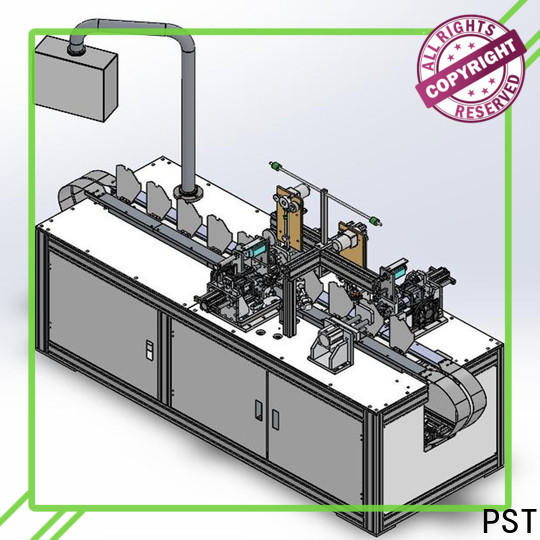 PST top KN95 semi-automatic mask machine factory for medical products