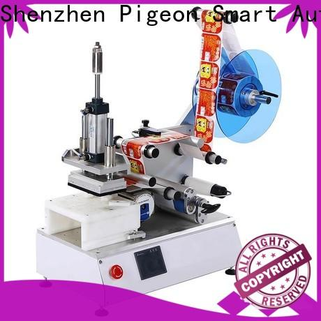 PST semi automatic flat labeling machine for busniess for box corner