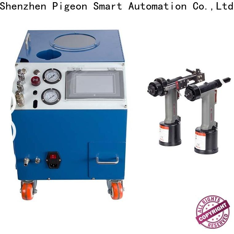 high speed electric riveting machine company for flight case