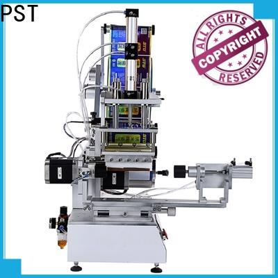 PST high precision flat labeling machine factory price for box corner