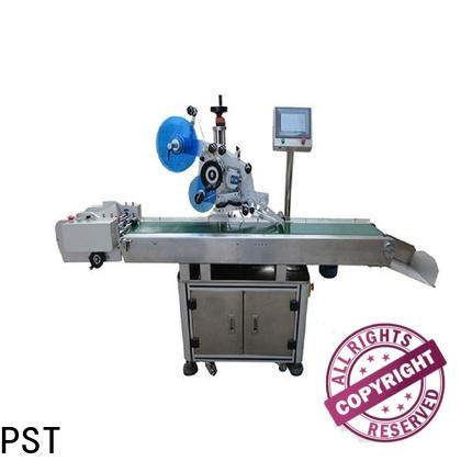 PST high quality automatic plane labeling machine manufacturer for box