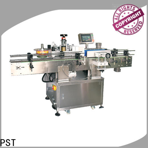 PST automatic label applicator for busniess for round bottles
