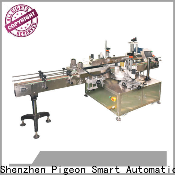 semi automatic double side sticker labeling machine supplier for bucket