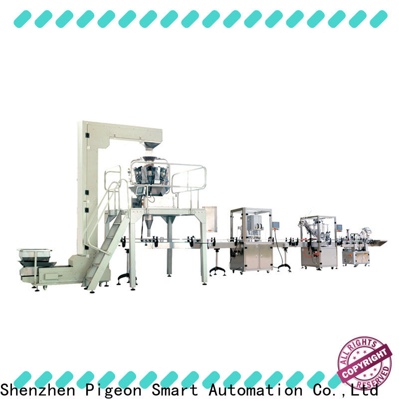 PST full automatic assembly plane labeling head company for packing