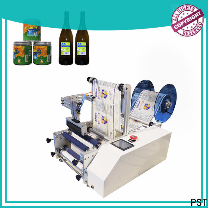 PST semi automatic bottle labeler company for industry