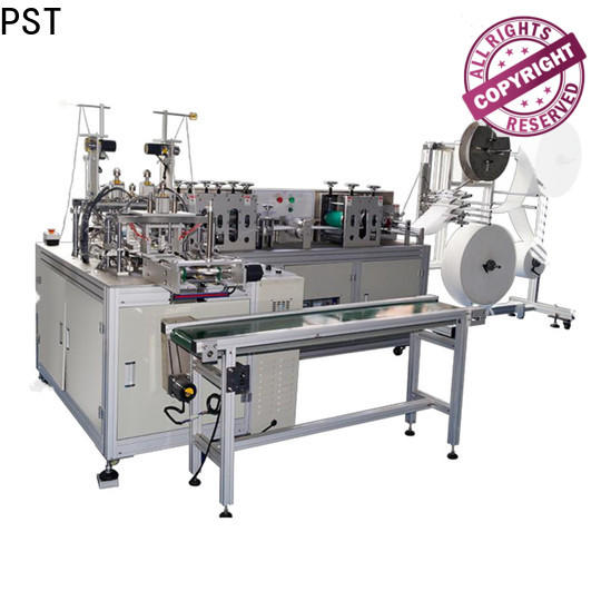 PST flat disposal face mask machine company for medical usage
