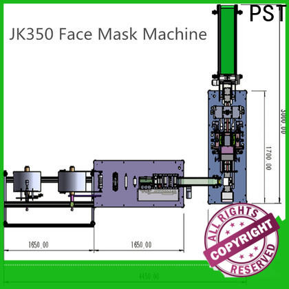 PST hot sale flat disposal face mask machine manufacturers for sale