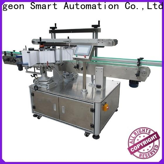 PST side label applicator company for bucket