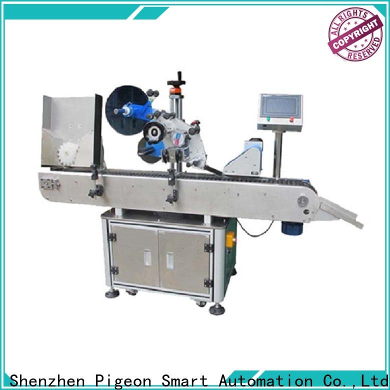 PST latest automatic round bottle labeling machine company for cosmetics bottles