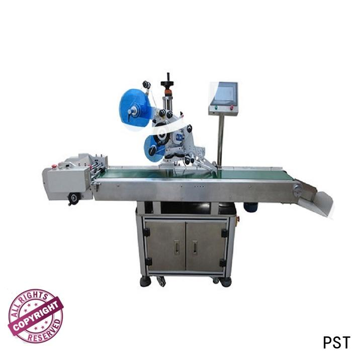 PST hot sale automatic flat labeling machine for busniess for box
