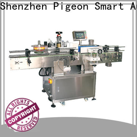 PST top sticker labelling machine shrink labeling equipment for cards