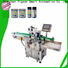 top automatic label applicator machine supplier for round bottles