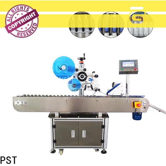 PST corner label machine factory for flat bottles