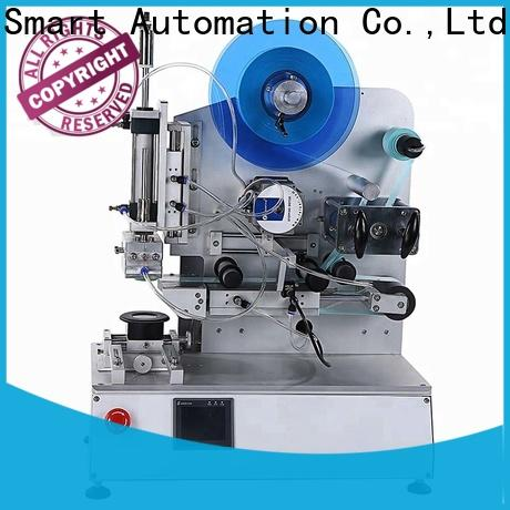 PST hot sale semi automatic flat labeling machine with custom service for sale