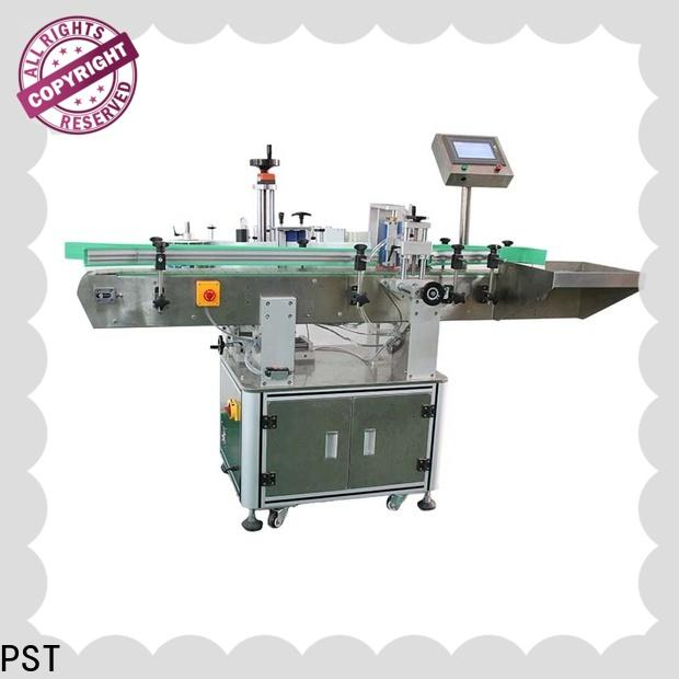 PST high speed automatic bottle labeling machine supplier for cosmetics bottles