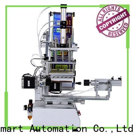 high precision semi automatic flat labeling machine factory price for box corner