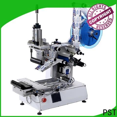 PST semi automatic auto label machine factory for round bottles