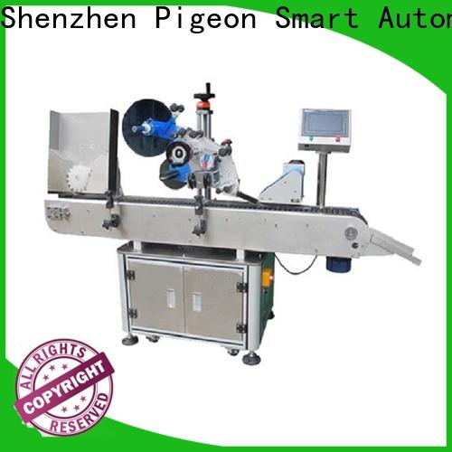 custom bottle sticker labeling machine with custom service for cosmetics bottles