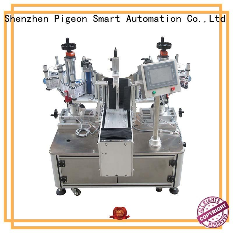 hot sale semi automatic labeling machine design for square bottles PST