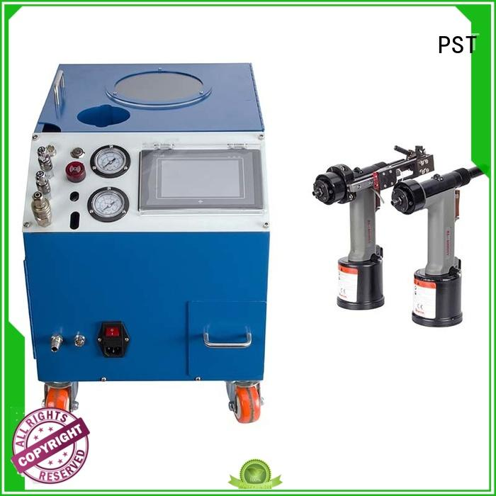 PST Brand pneumatic pneumatic color rivet machine manufacturer riveting