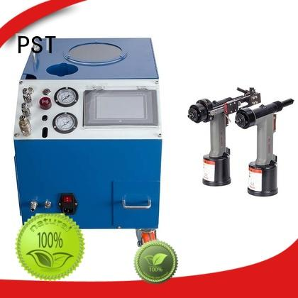 PST excellent automatic riveting machine supplier for computer terminal case