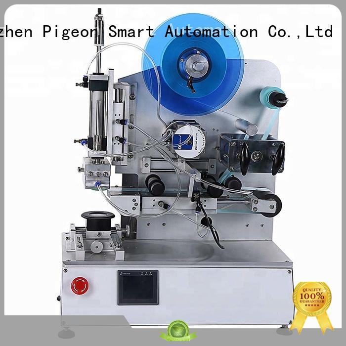 semi automatic automatic label sticking machine design for flat bottles