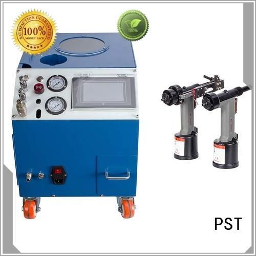 PST automatic pop rivet machine factory for flight case